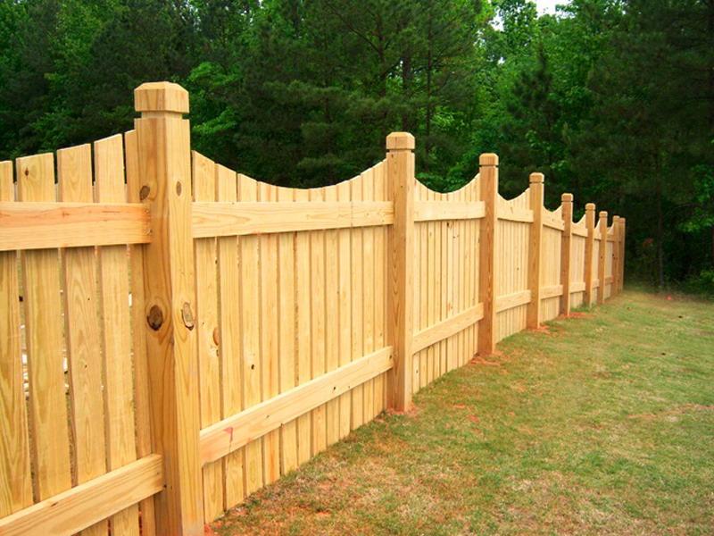 for Barda de madera para jardin
