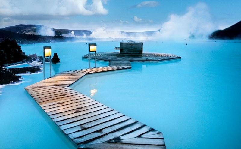 Исландия - Голубая Лагуна