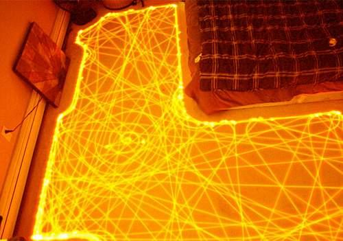 робот пылесос - траектория