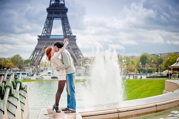 романтическое путешествие во Францию