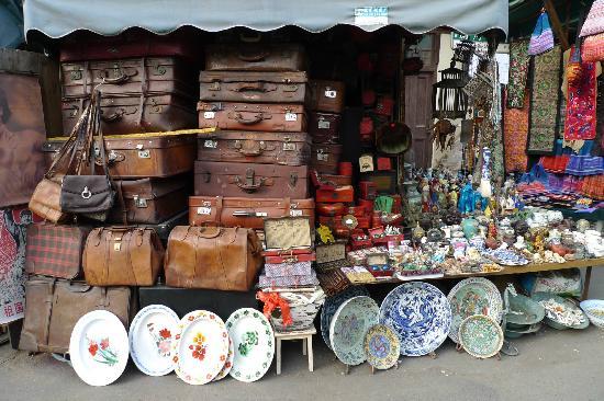Антикварный рынок на улице Дунтай