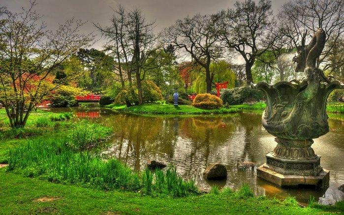 Ботанический сад в Гамбурге