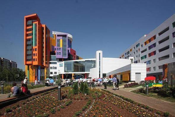 Деская больница на юго-западе Москвы 1