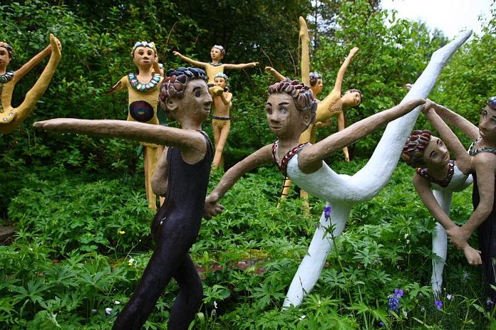 Парк скульптур Иматры