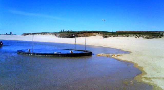 Пляж Nautholsvik