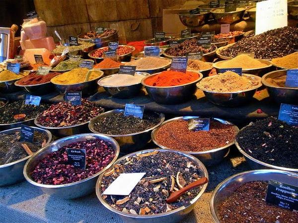 Рынок чая Тянь-Шань
