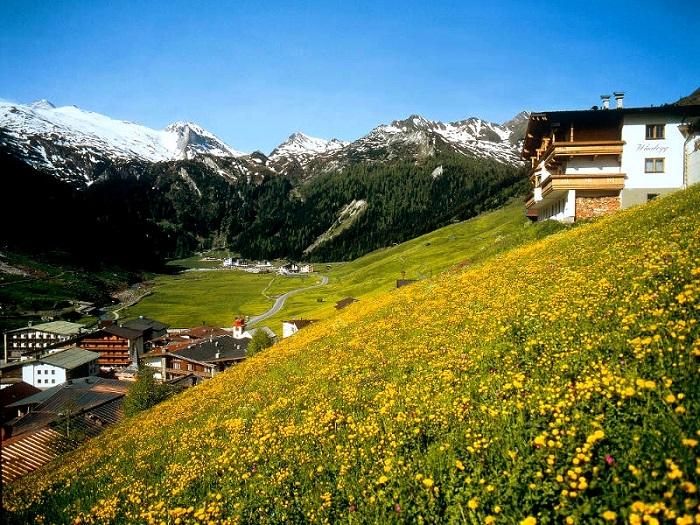Хинтертукс, Австрия