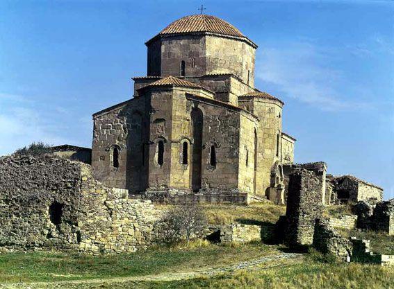 храм Джвари в Мцхете