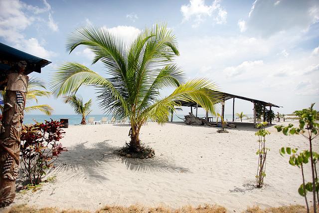 Пляж Санта-Клара и Фараллон