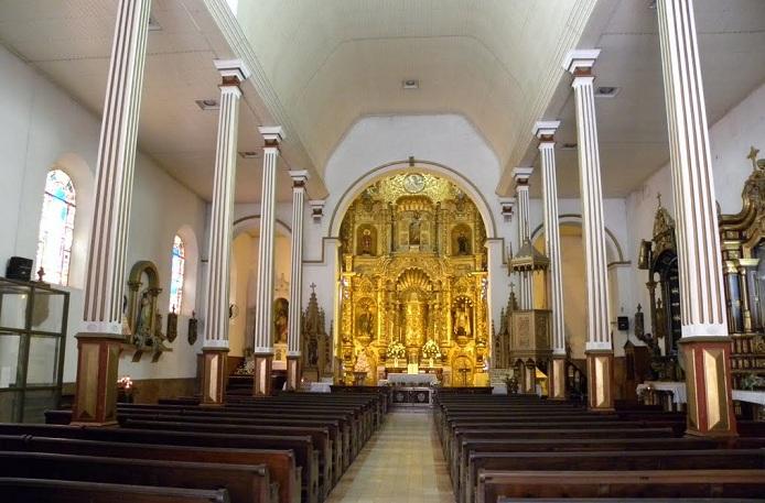 Церковь Сан-Хосе