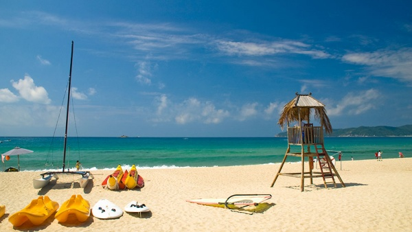 Пляжами острова хайнань считаются