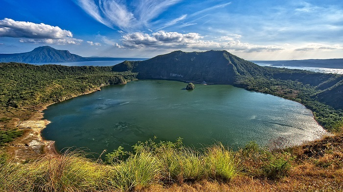This is the Philippines No.16 - Taal Volcano Crater