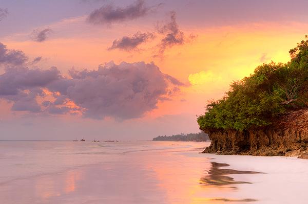 пляж Диани