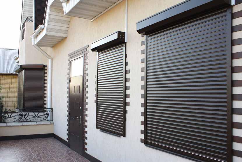 Рольставни на окна и двери – купить в Челябинске, цена 7