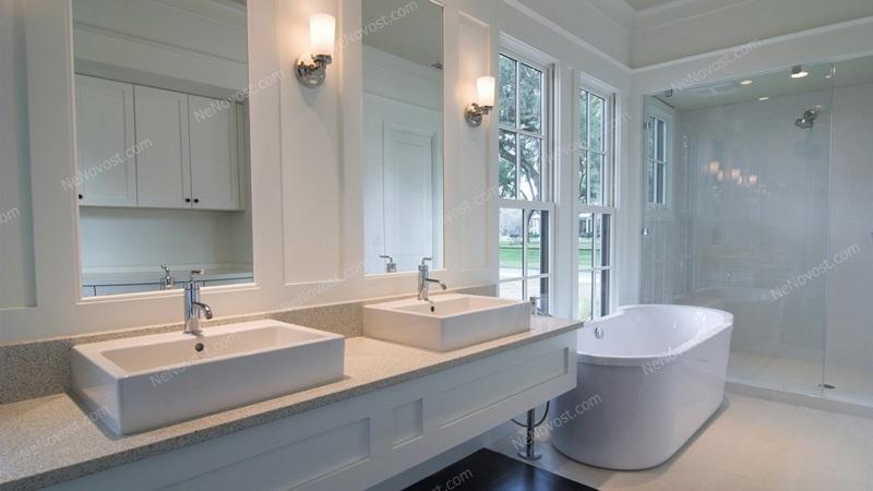 Дизайн ванной комнаты фото № 116