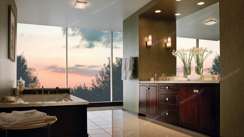 Ванна угловая дизайн ванной комнаты