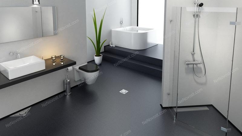 Дизайн ванной комнаты фото № 131