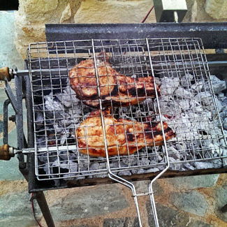 Свинина по-провански