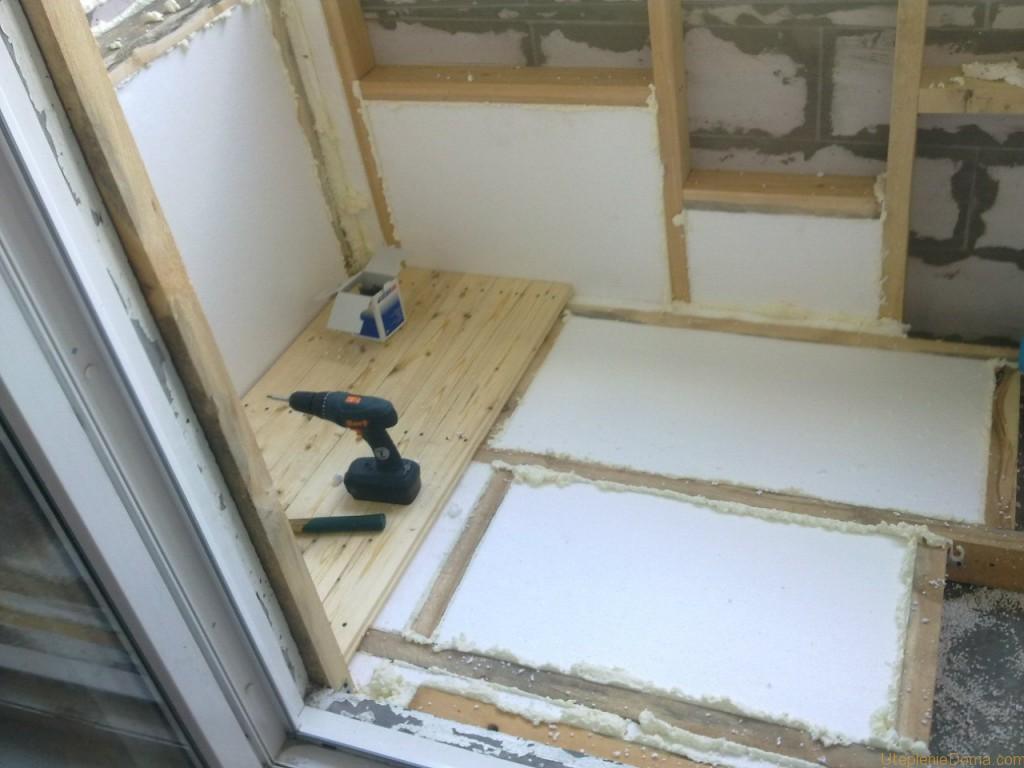 Минеральную вату можно использовать не только для стен и потолка, но и для утепления пола под стяжку.