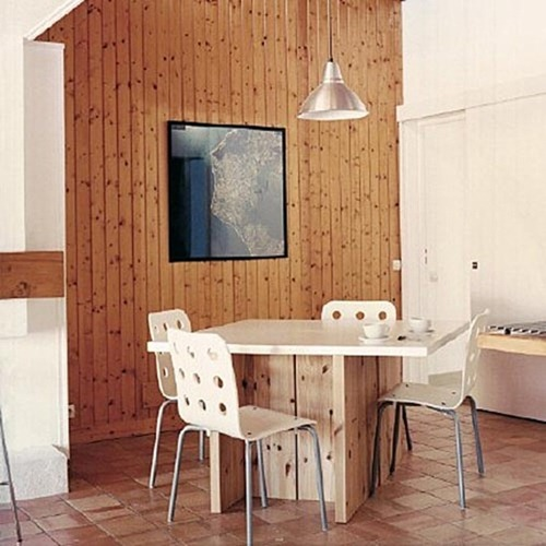 Dining-Room-Wood-Wall-Panel-Design-Photo