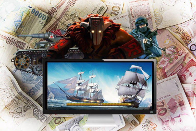 как онлайн заработать деньги на играх